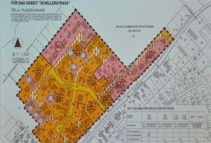 Nördlich der Schillerstraße - Planung